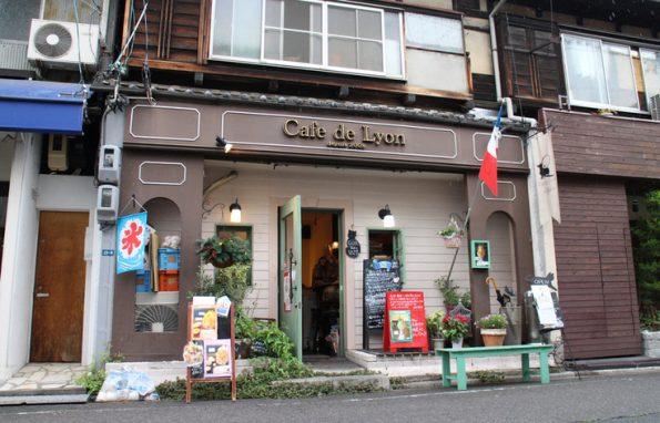 名古屋 栄 朝食 モーニング cafe de lyon
