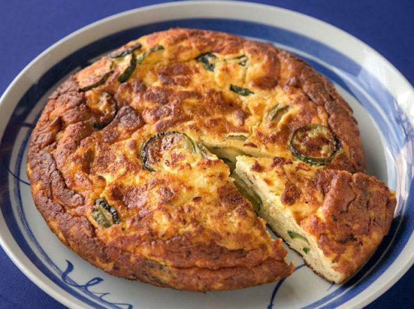 イタリアンの朝ごはん レシピ ズッキーニのフリッタータ 作り方