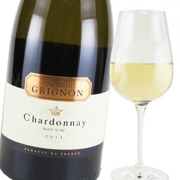 カルディ オススメのワイン 2020【お酒】マノワール・グリニョン シャルドネ(白) 750ml[フランス]