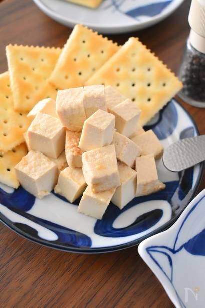 おつまみレシピで休日を満喫する 和食 おつまみ  豆腐の味噌漬け