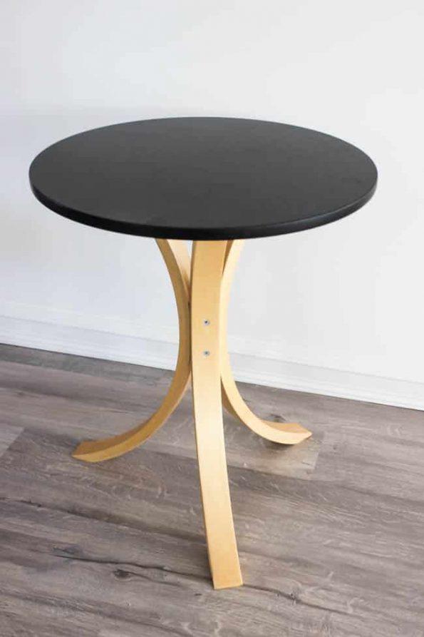 ikeaのサイドテーブルをリメイク ペイントして印象変える [ikea hacks]