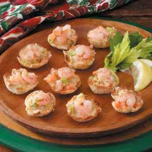 おつまみレシピで休日を満喫する 海老のタルト