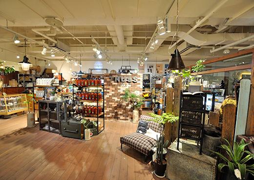 神戸でおすすめのインテリアショップ TRUSS 本店