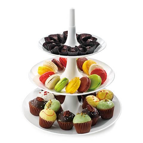 トリュフチョコレートやマカロン、カップケーキ