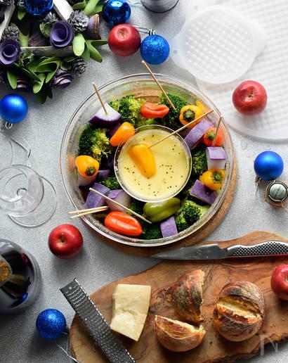 クリスマス 時短レシピ チーズフォンデュ