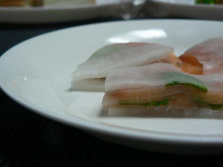 【調理時間 20分】お酒のおつまみレシピ 大根とスモークサーモンのミルフィーユ