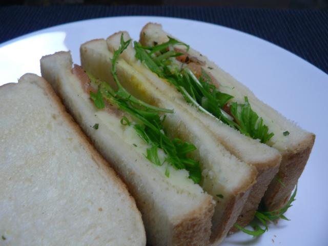 【調理時間 15分】お酒のおつまみ 燻製サーモンとマッシュポテトのサンドイッチ 簡単レシピ