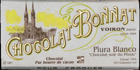 bonnat Chocolat Piura Blanco チョコレート