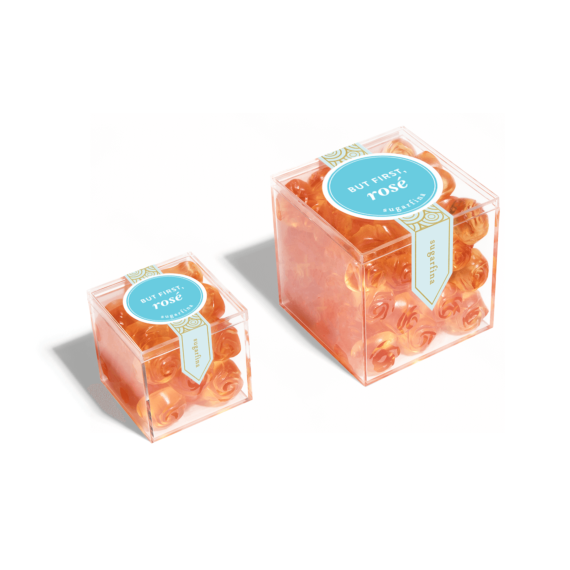 海外の輸入お菓子sugarfina BUT FIRST, ROSÉ ROSES  グミ