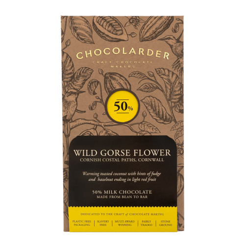 chocolarder Wild Gorse Flower 50% Milk チョコレート