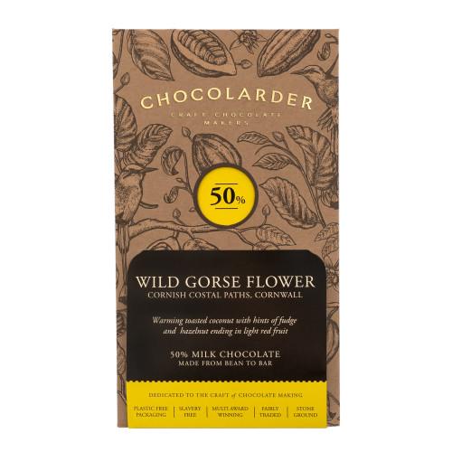 chocolarder Wild Gorse Flower 50% Milk チョコレート