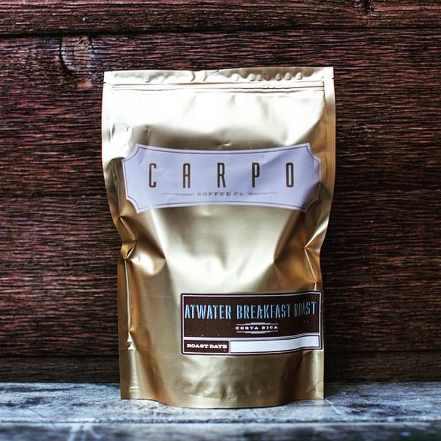 carpo atwater breakfast Coffee 水出しコーヒー