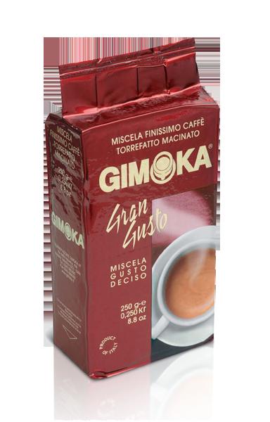 輸入コーヒー gimoka Grande gusto 250g di caffè macinato コーヒー豆
