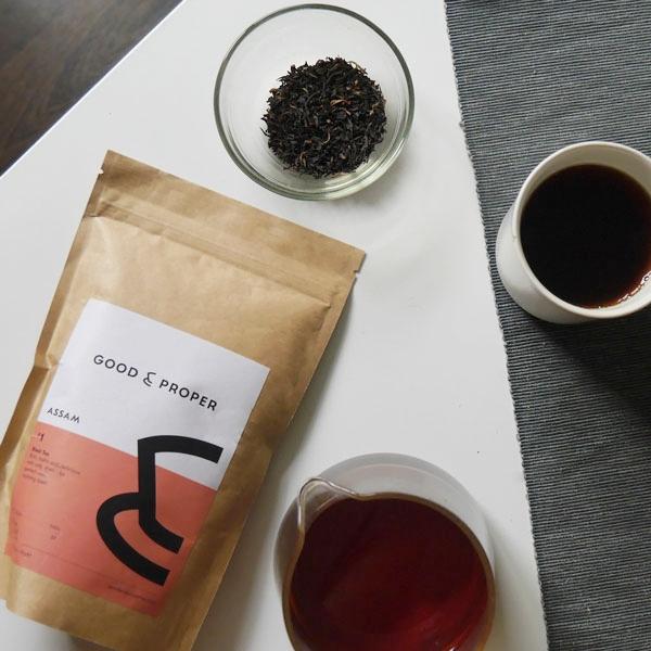 海外の輸入紅茶 イギリス goodandproper Assam - Loose Leaf - Black Tea アサッム