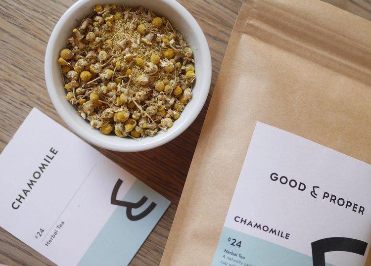海外の輸入紅茶 イギリス goodandproper Chamomile - Loose Leaf - Herbal Tea カモミール