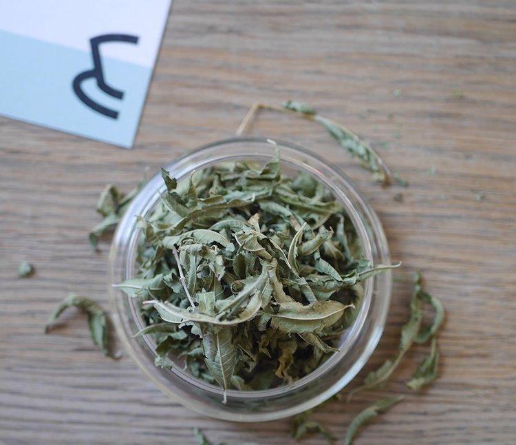 海外の輸入紅茶 イギリス goodandproper Lemon Verbena - Loose Leaf - Herbal Tea ハーブティー