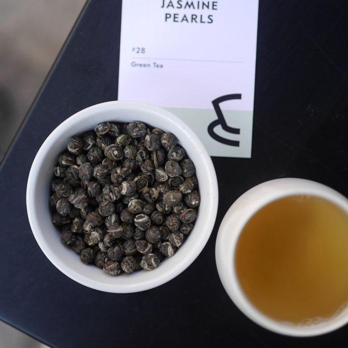 海外の輸入紅茶 イギリス goodandproper Jasmine Pearls - Loose Leaf - Green Tea  ジャスミン