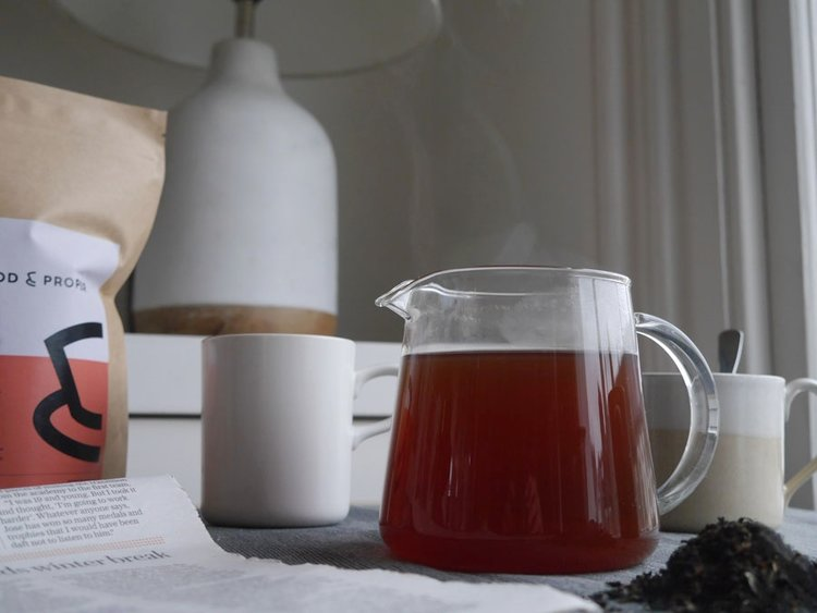 海外の輸入紅茶 イギリス goodandproper Ceylon - Loose Leaf - Black Tea セイロン