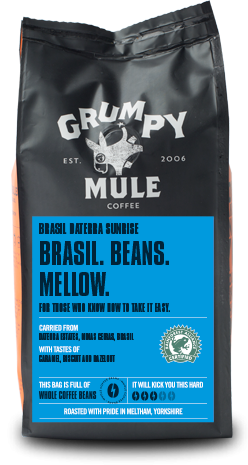 海外の輸入コーヒー grumpymule - BRASIL DATERRA SUNRISE コーヒー