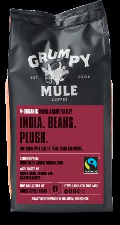海外の輸入コーヒー grumpymule - INDIA ARAKU コーヒー