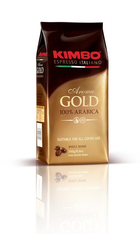 Kimbo Espresso Gold 100% Arabica Ground Coffee アラビカコーヒー