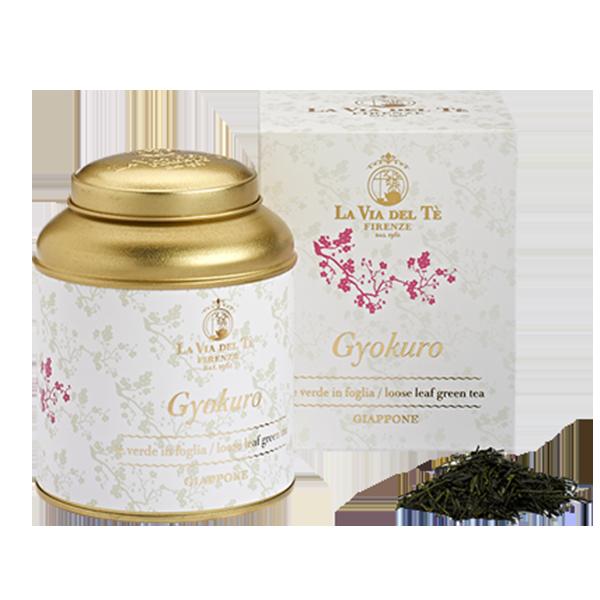 海外の輸入紅茶 イタリア laviadelte Gyokuro 玉露