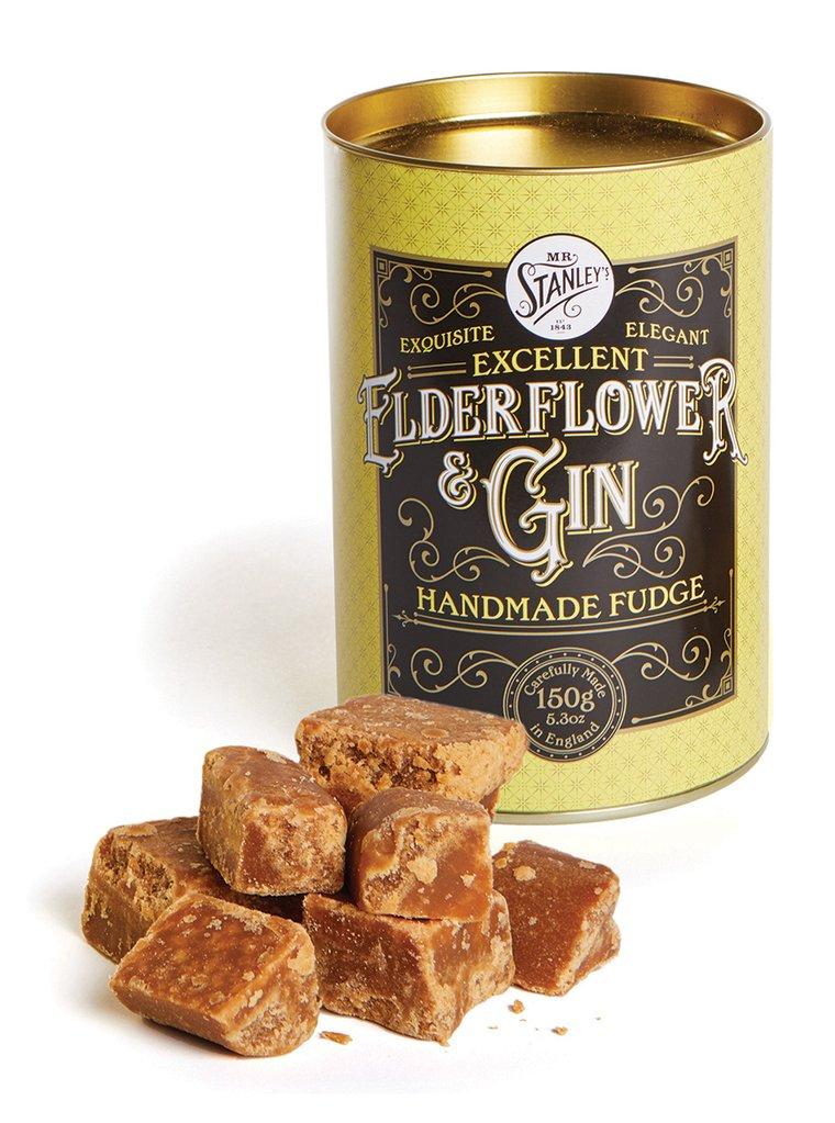 海外の輸入お菓子 ファッジ  イギリス mrstanleys GIN & ELDERFLOWER FUDGE  ファッジ