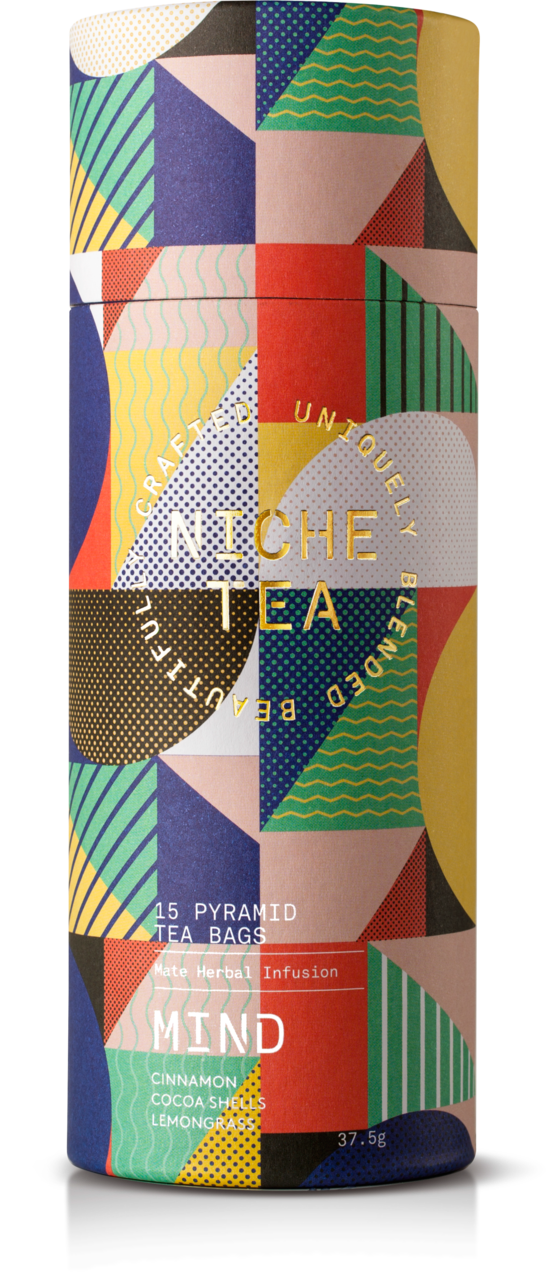海外の輸入紅茶 イギリス niche MIND ENERGISE — REVITALISE — VITALITY お茶