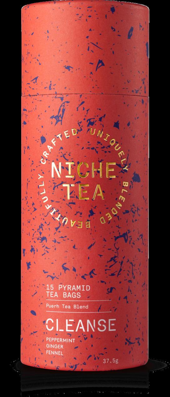 海外の輸入紅茶 イギリス niche CLEANSE PURIFY — DIGEST — CLARIFY