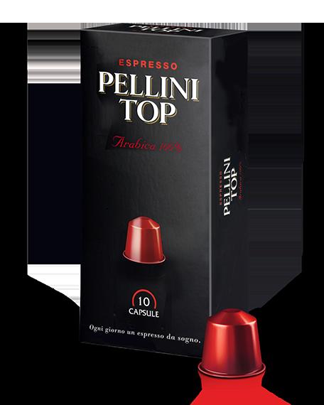 pellini カプセルペリーニトップアラビカ100%