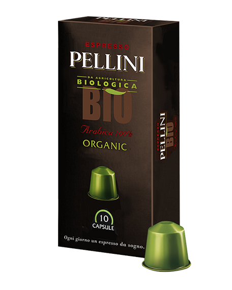 pellini Bio Organic Tin オーガニックコーヒー