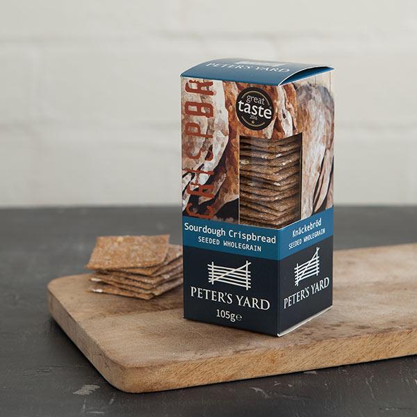 海外の輸入お菓子 スウェーデン petersyard Seeded Wholegrain crispbread クリスプ