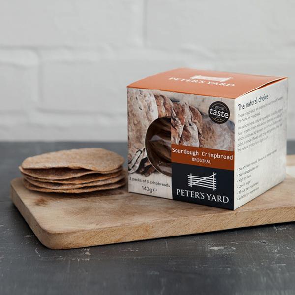 海外の輸入お菓子 スウェーデン petersyard Original crispbread クリスプ