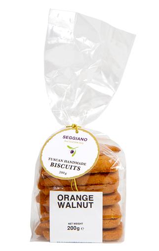 海外の輸入お菓子 ビスコッティ イタリア seggiano orange walnut ビスケット