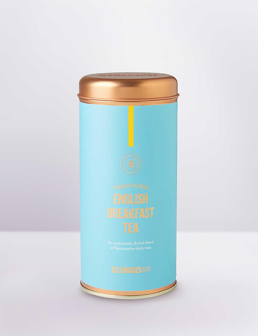 海外の輸入紅茶 イギリス SELFRIDGES SELECTION Traditional English Breakfast Tea 60g イングリッシュブレックファーストティー
