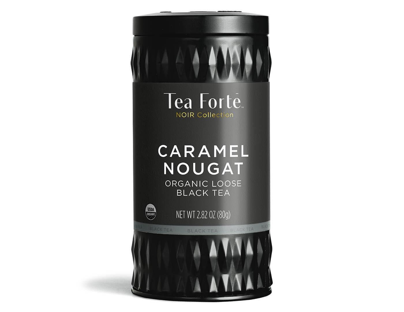 teaforte CARAMEL NOUGAT NOIR LOOSE TEA CANISTER キャラメルヌガーティー