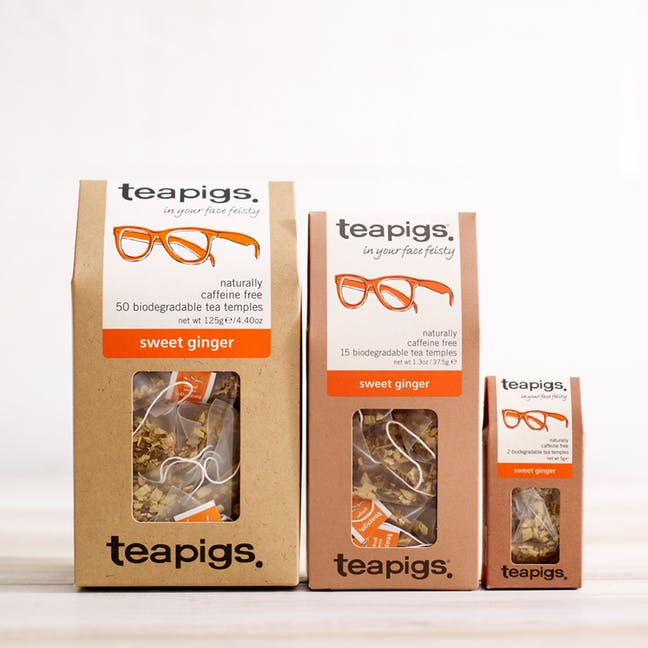 海外の輸入紅茶 紅茶 アメリカ teapig sweet ginger in your face feisty 紅茶