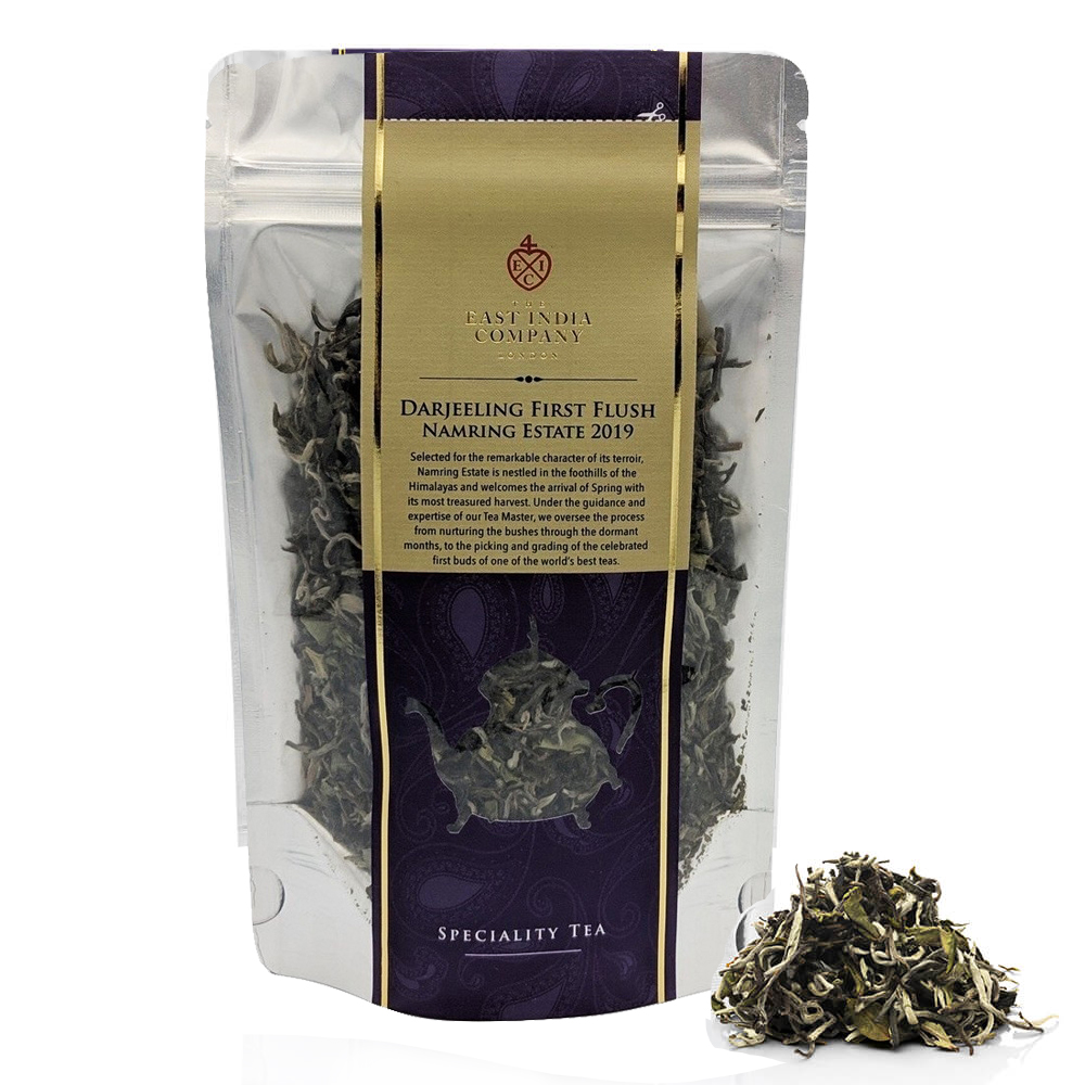 海外の輸入紅茶 theeastindiacompany - Darjeeling First Flush 2019 Loose Black Tea Pouch 80g ダージリン紅茶