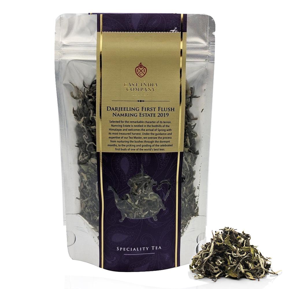 海外の輸入紅茶 theeastindiacompany - Darjeeling First Flush 2019 Loose Black Tea Pouch 80g ダージリン紅茶