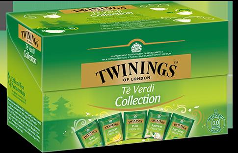 海外の輸入紅茶 イギリス twinings 緑茶コレクション