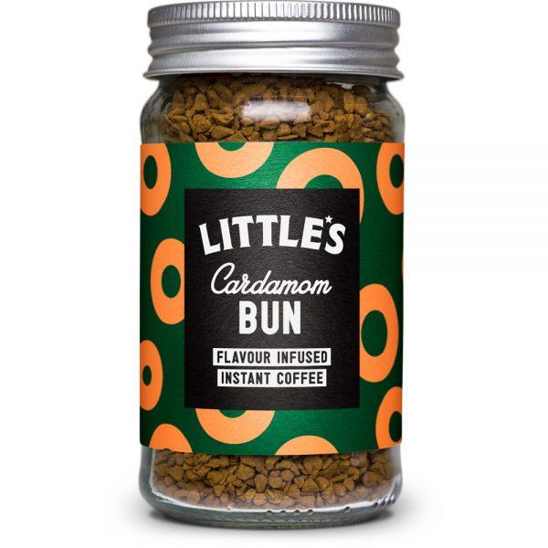 海外のコーヒー イギリス littles Cardamom Bun Flavour Infused Instant Coffee
