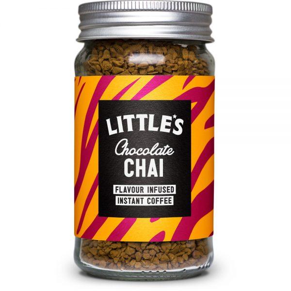 海外のコーヒー イギリス littles Chocolate Chai Flavour Infused Instant Coffee