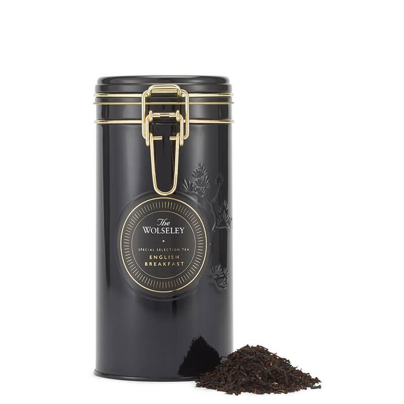 海外の輸入紅茶 イギリス thewolseley English Breakfast Loose Leaf Tea イングリッシュブレックファーストティー