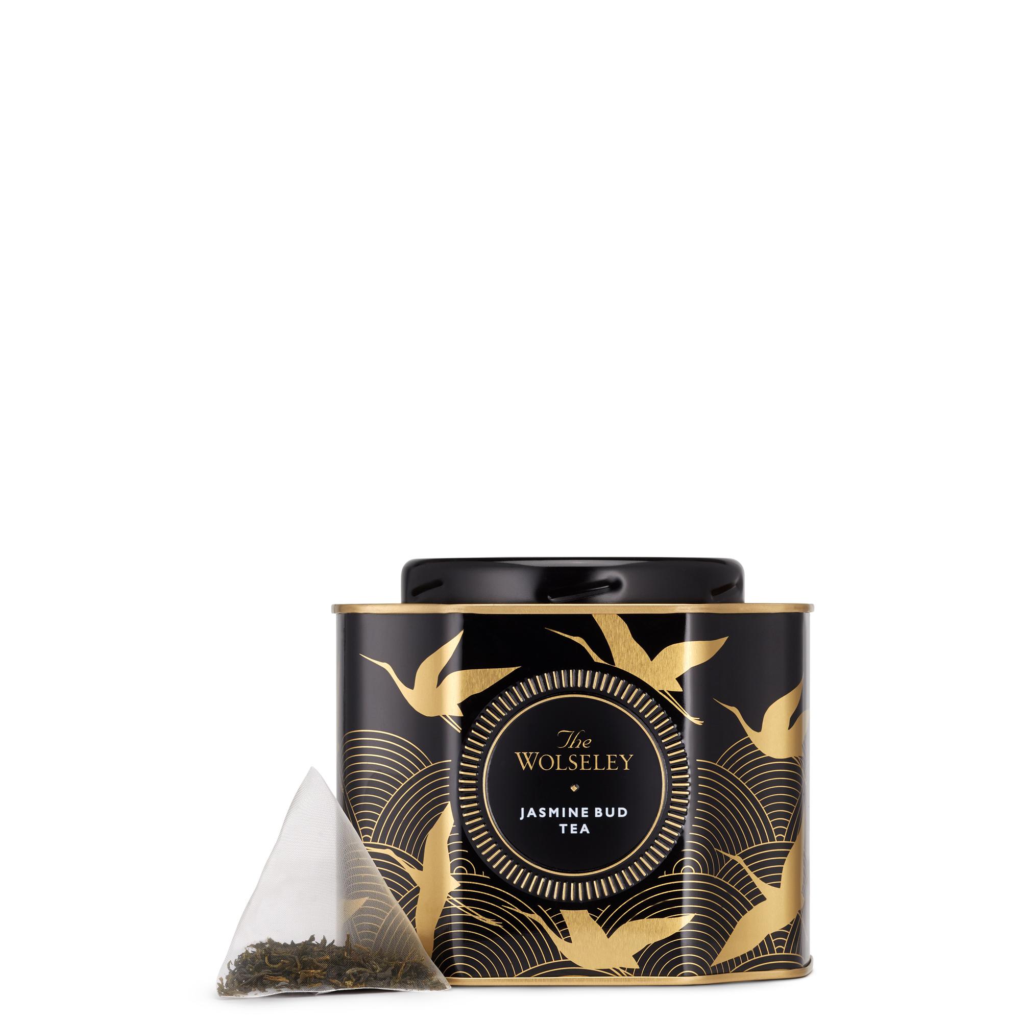 海外の輸入紅茶 イギリス thewolseley Jasmine Bud Tea Caddy  ジャスミンティー