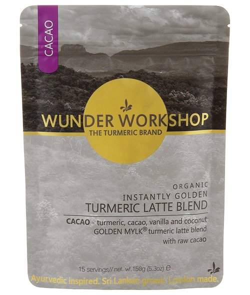 wunderworkshop INSTANTLY GOLDEN TURMERIC X CACAO LATTE ターメリックカカオラテ