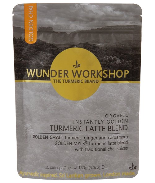 wunderworkshop INSTANTLY GOLDEN TURMERIC X CHAI LATTE  ターメリックチャイラテ