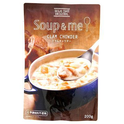 成城石井のレトルト食品 成城石井 スープ&ミー クラムチャウダー 200g